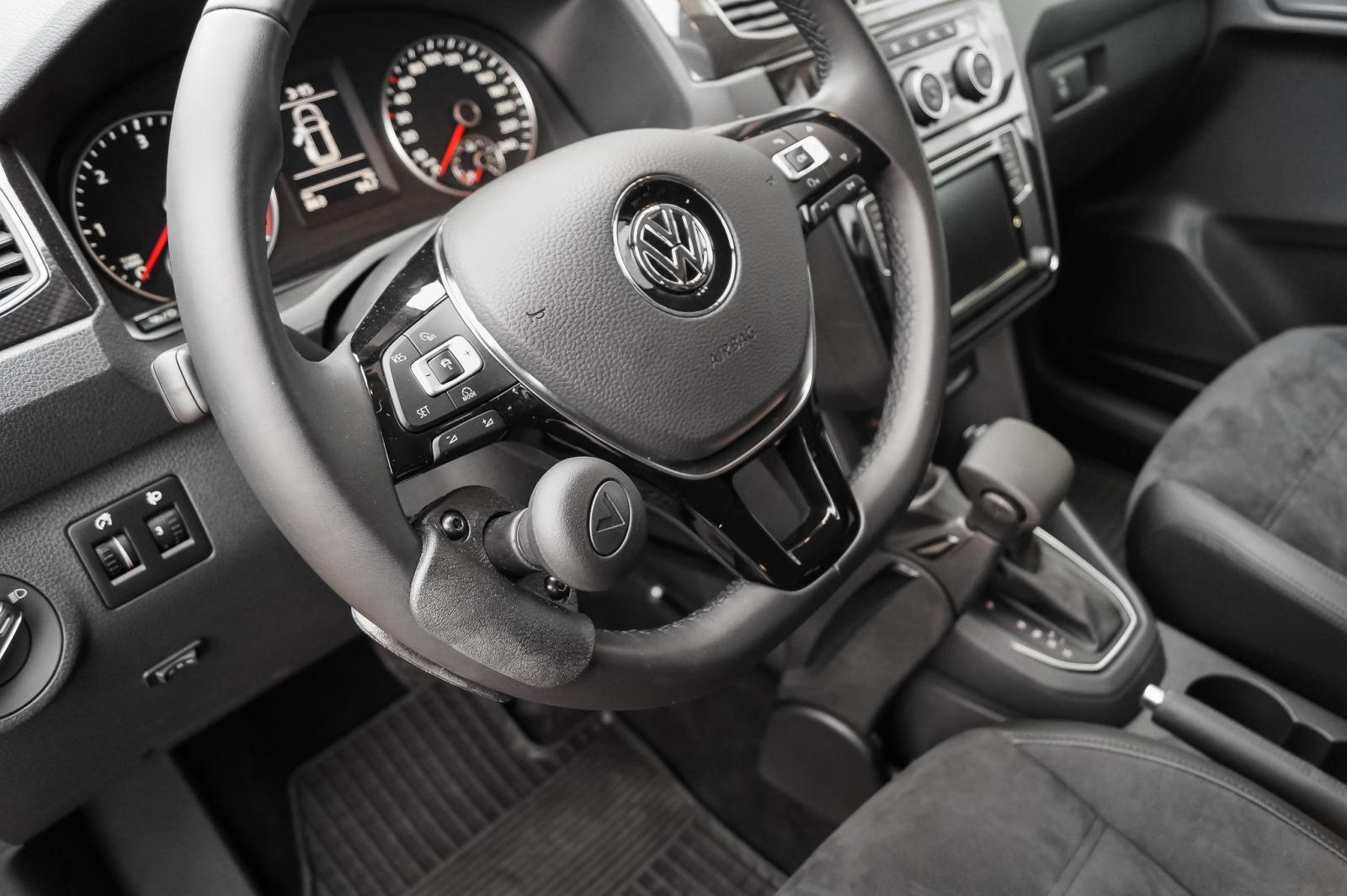Lenkradknauf (Lenkradknopf) zur sicheren Fahrzeugbedienung