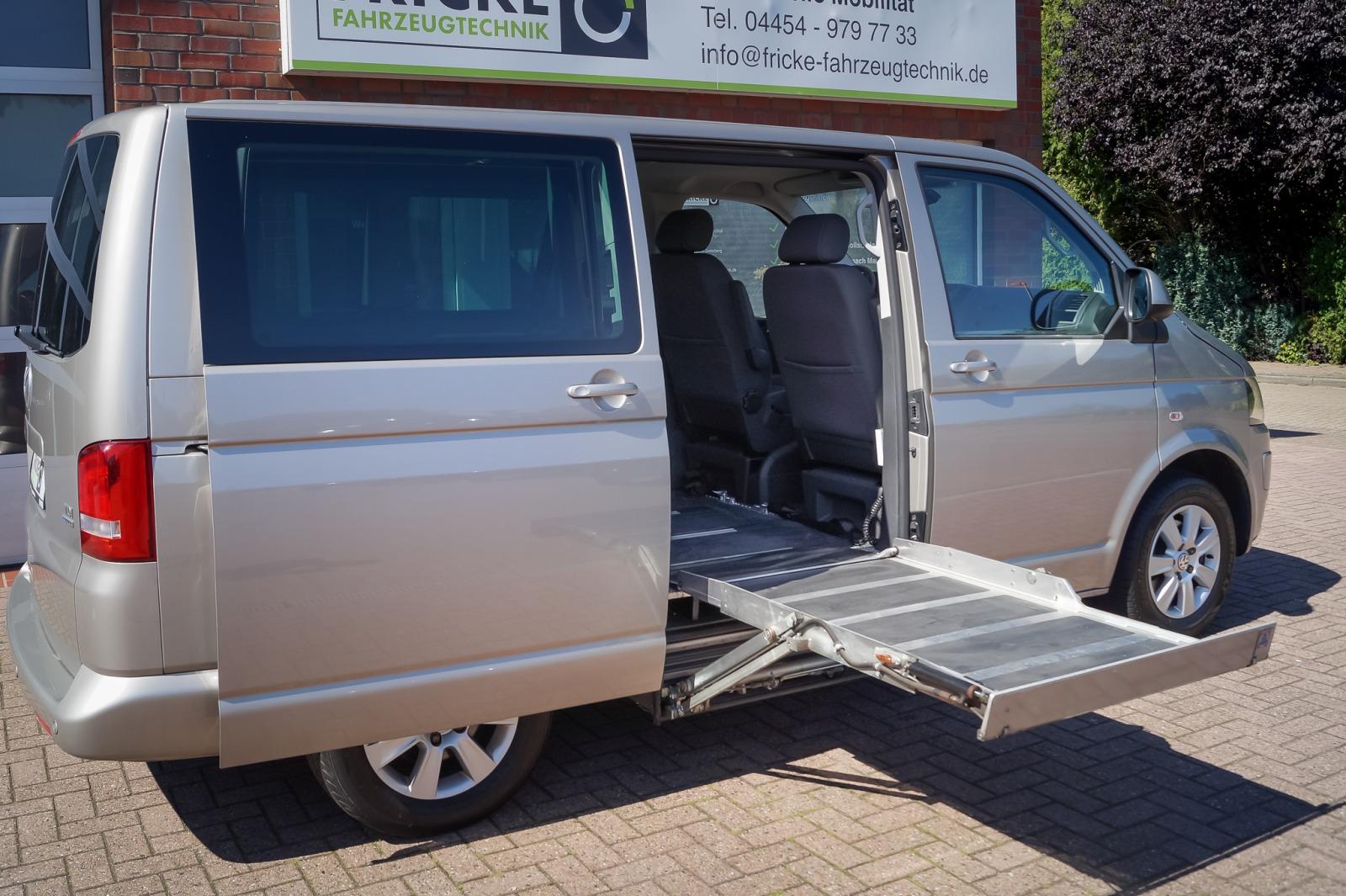 Kassettenlift für Rollstuhlfahrer - Seiteneinstieg