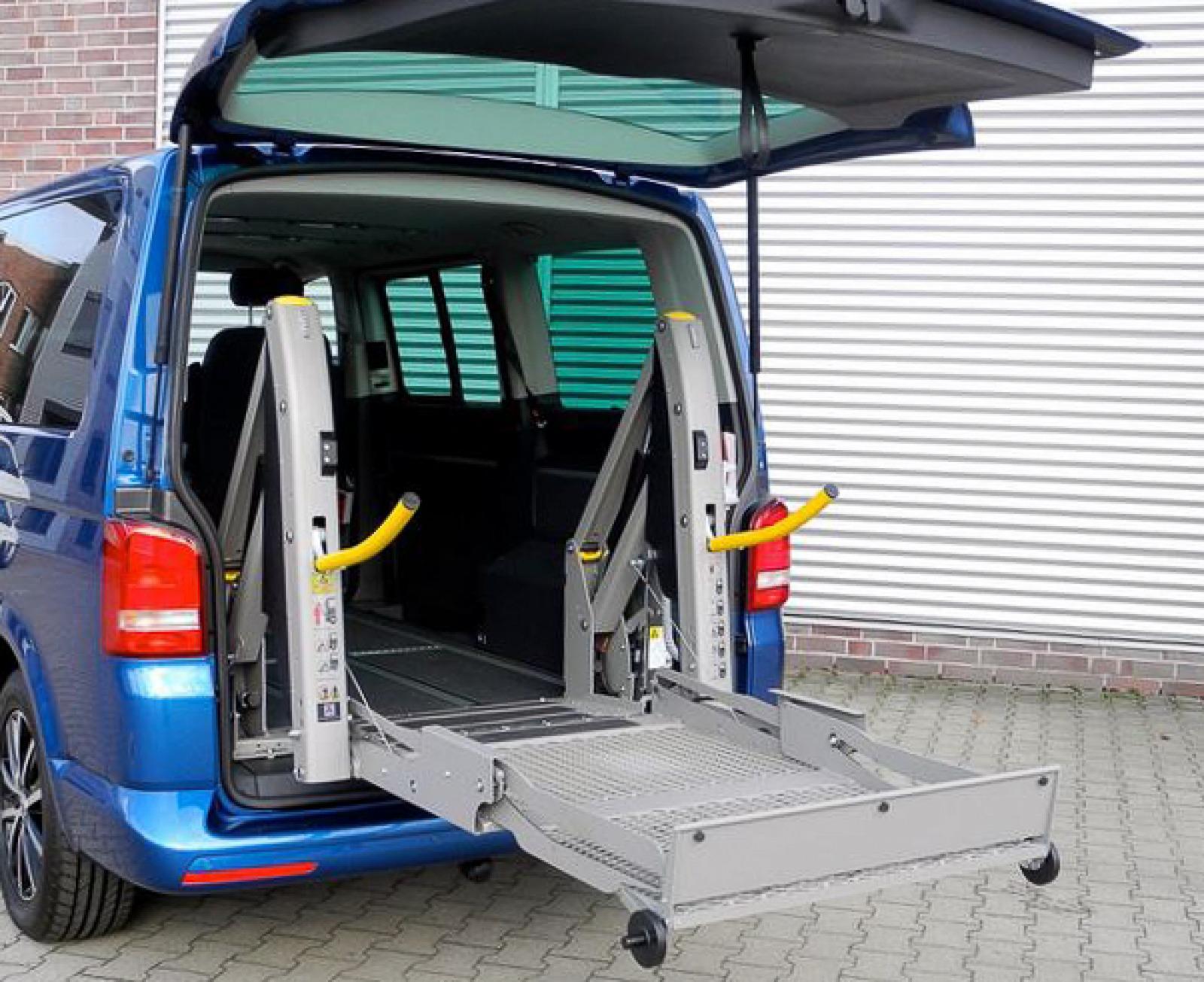 Hecklift für Rolli-Fahrer (Linear-Lift)