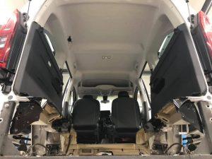 Citroen Berlingo - Heckausschnitt für Rollstuhlrampe - behindertengerecht - Fricke Behindertenfahrzeuge