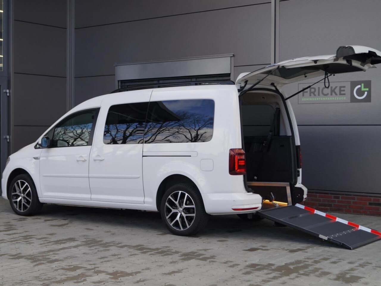 VW behindertengerechte Autos für Rollstuhlfahrer - Fricke Behindertenfahrzeuge (1)