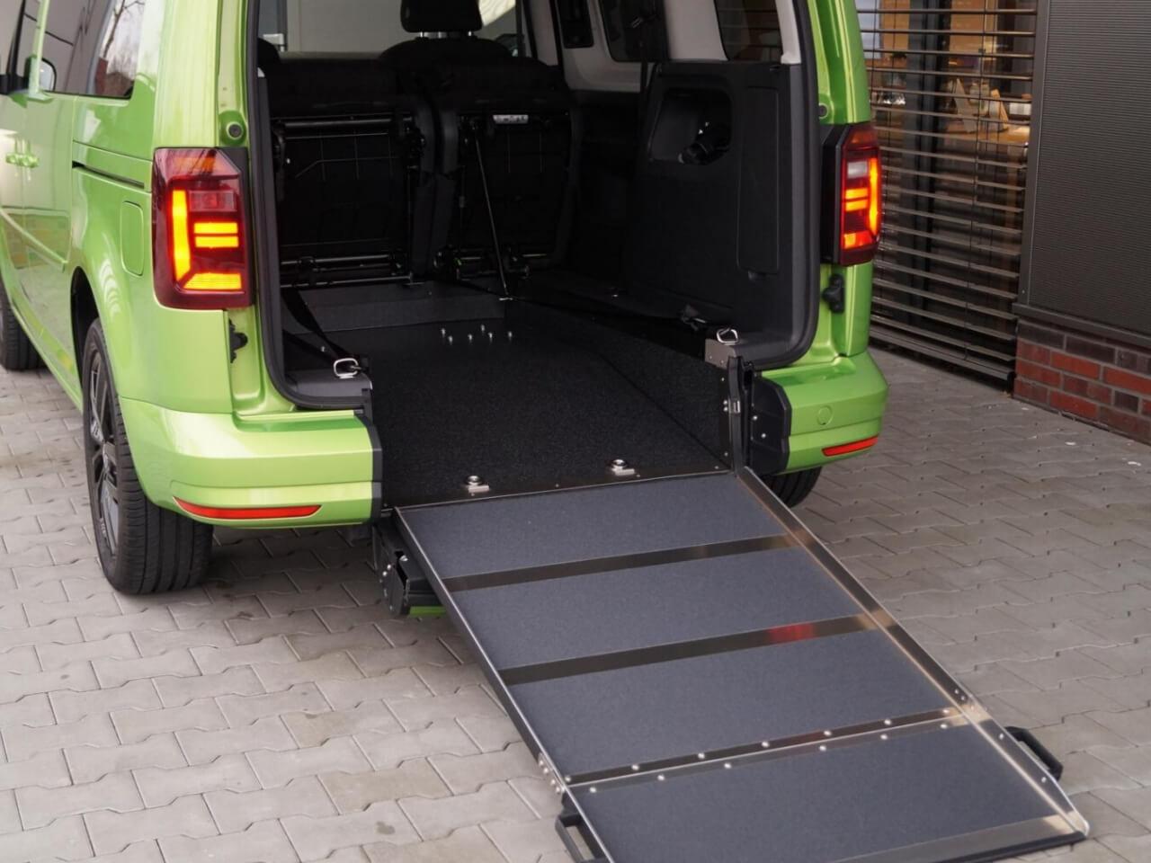 VW behindertengerechte Autos für Rollstuhlfahrer - Fricke Behindertenfahrzeuge (2)